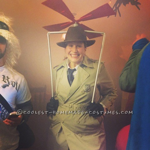 Cool Inspector Gadget Costume with Working Gadgets!