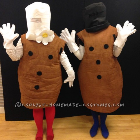 Coolest Interactive Mr. and Mrs. Potato Head Costumes