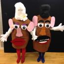 Coolest Interactive Mr. and Mrs. Potato Head Costumes