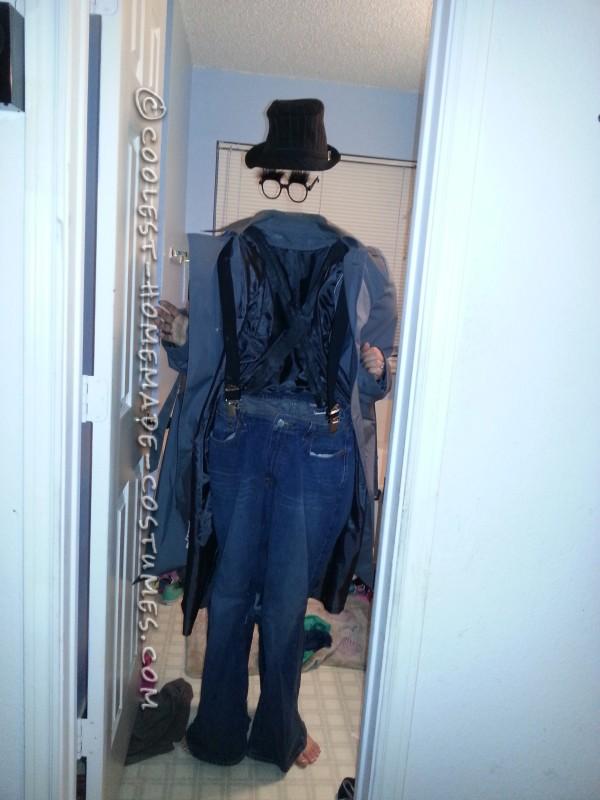 Cool Invisible Man Illusion Costume