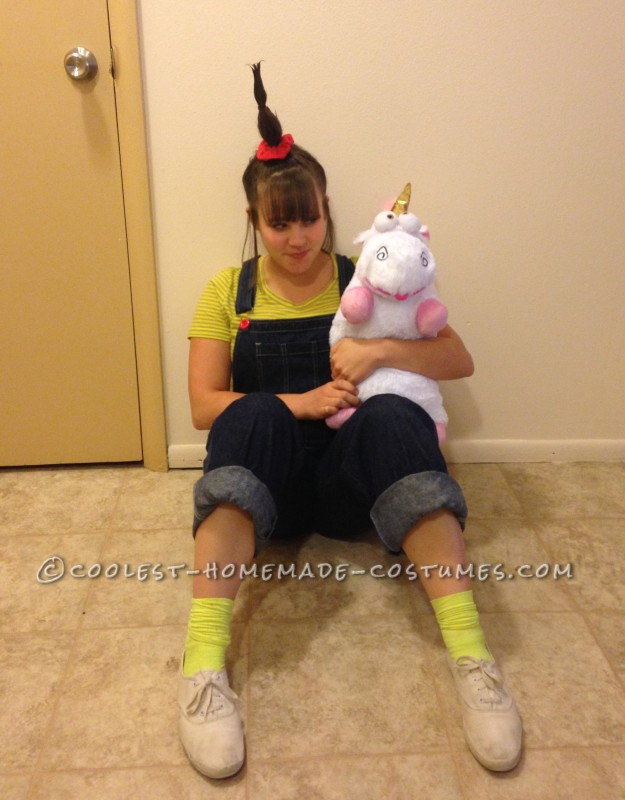 Homemade Costume for Agnes - the Cutest Child Ever, Featured in Despicable Me
