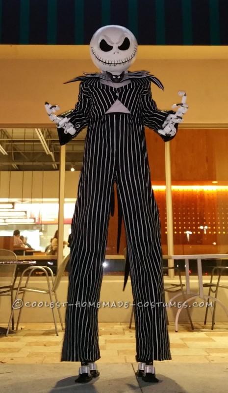 Larger Than Life Jack Skellington Costume - 2
