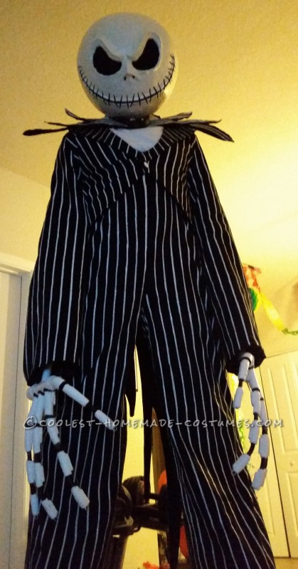 Larger Than Life Jack Skellington Costume - 3