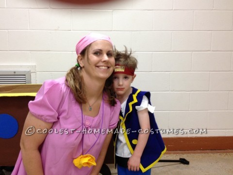 Jake and The Neverland Pirates Costume with Izzy and Cubby