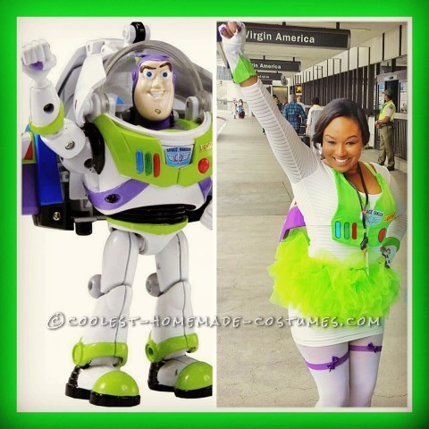 Just Sexy Enough (but not too risky) Buzz Lightyear Costume