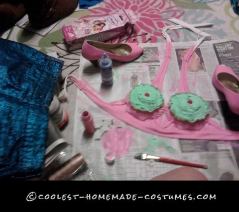 Katy Perry Inspired California Gurls Costume