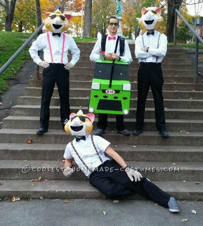 Kia Soul Hamsters Group Halloween Costume