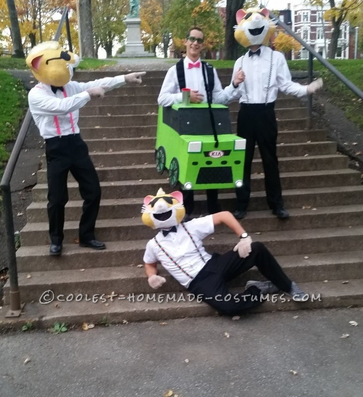 Kia Soul Hamsters Group Halloween Costume - 2