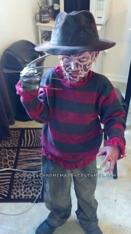 Coolest Kids Freddy Krueger Costume