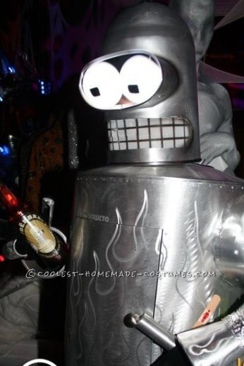 Coolest Homemade Bender from Futurama Costume