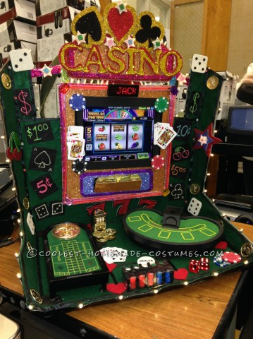 Cool Lady Luck Working Casino Costume