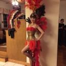 Beautiful Las Vegas Showgirl Costume