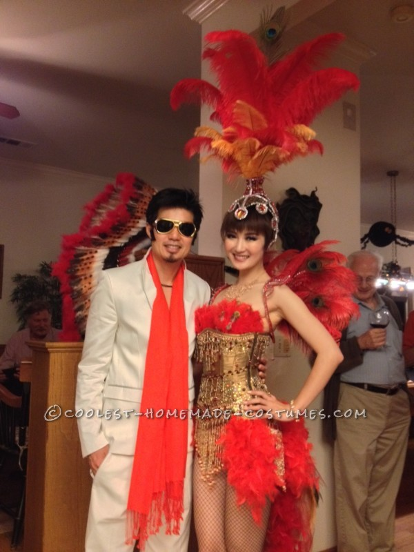 Beautiful Las Vegas Showgirl Costume - 3