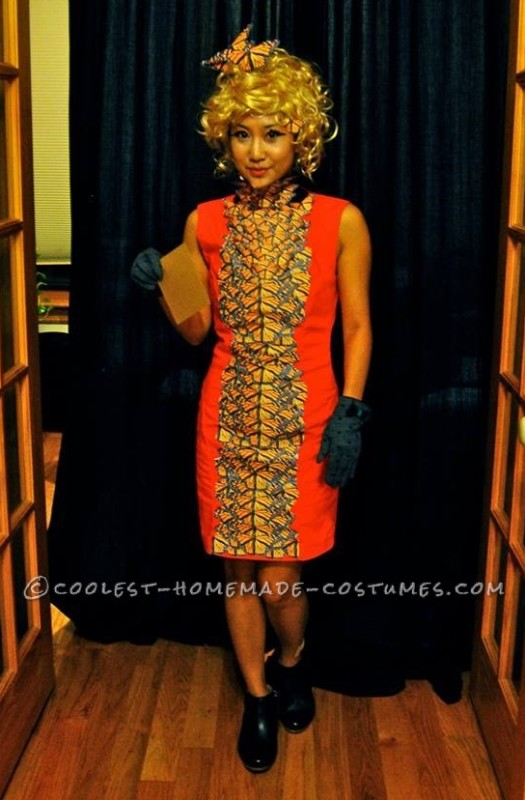 Last Minute Effie Trinket Costume