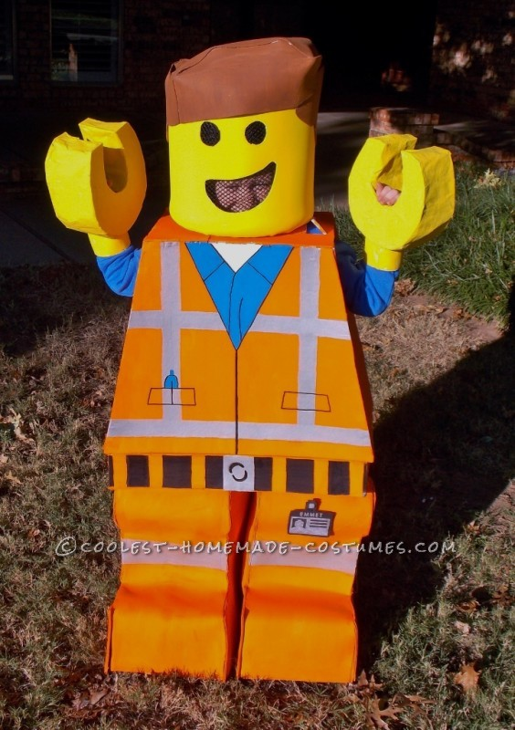 Coolest Homemade Lego Emmet Costume