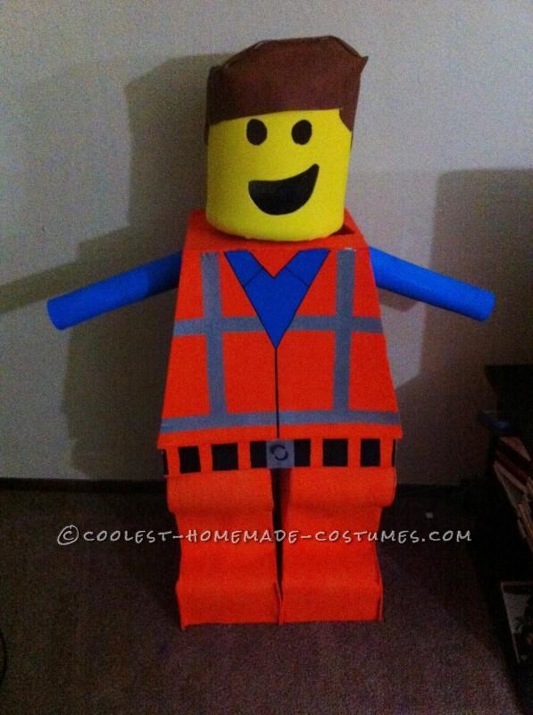 Coolest Homemade Lego Emmet Costume