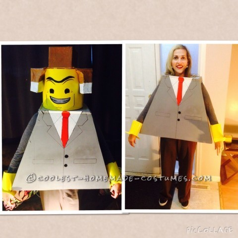 Homemade Family Lego Movie Costume