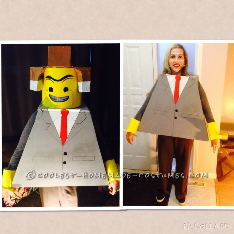 Homemade Family Lego Movie Costume - 1