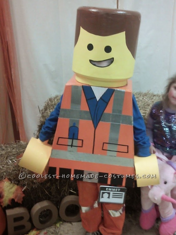Awesome Lego Movie Emmet Costume for a Child - 1