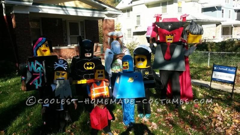 Lego Movie Family Costumes