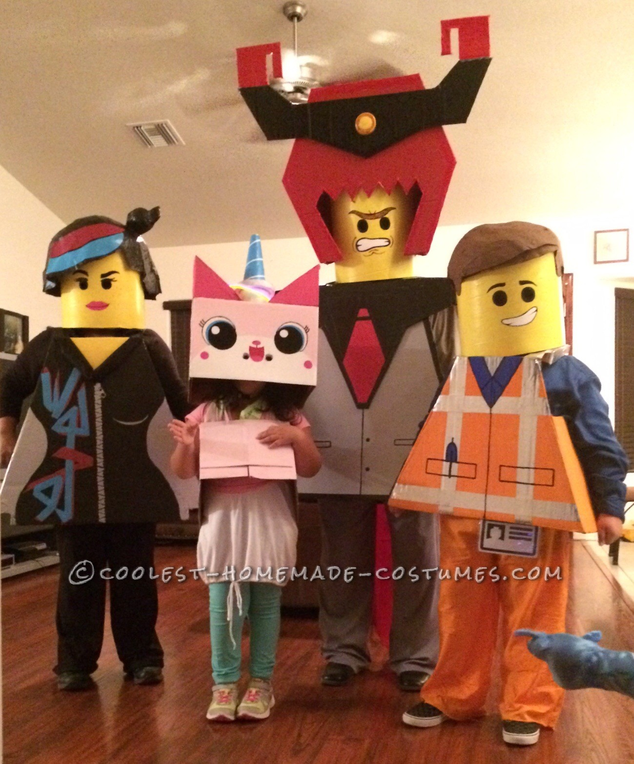Lego Movie Obsessed Boy with Autims Gets the Whole Family to Join the Fun