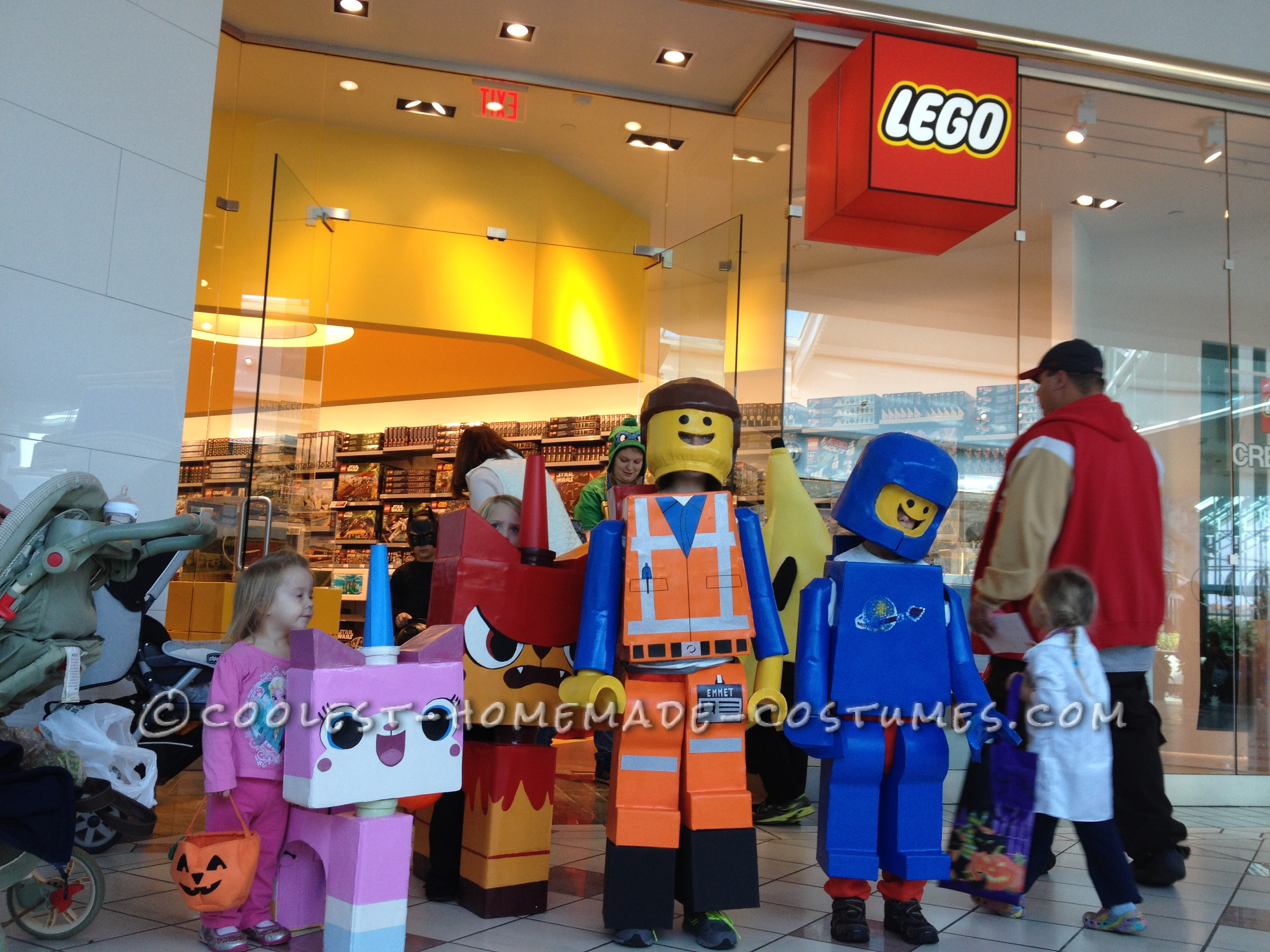 Lego's Come To Life Group Costume
