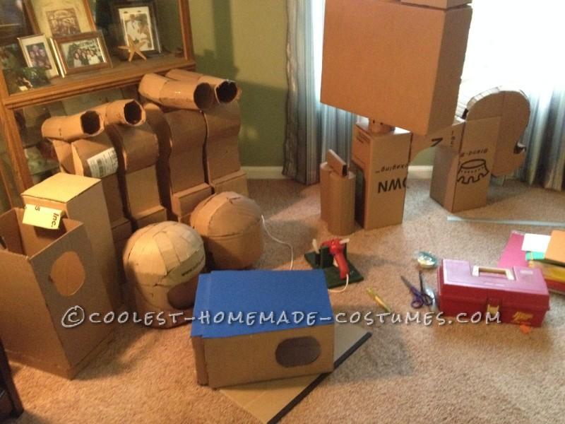 Cardboard & Hot Glue