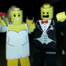 Prize winning DIY Lego People Costumes