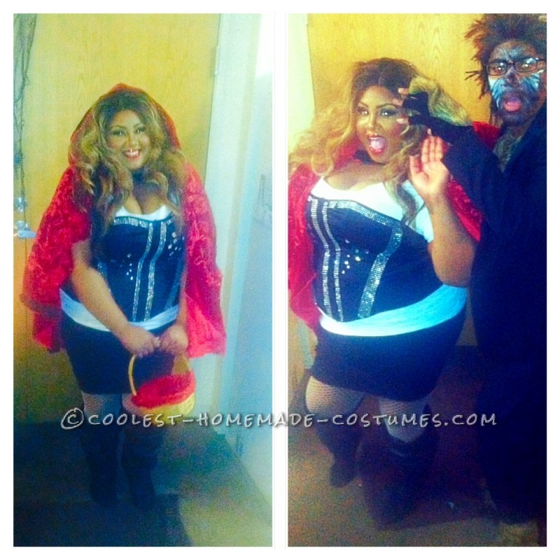 Lil' Red Beyonce and the Wolf of Wall Street Costumes - 1