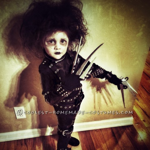 Little Edward Scissorhands Halloween Costume