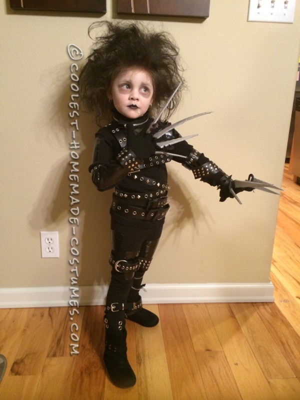 Little Edward Scissorhands Halloween Costume - 2