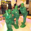 Coolest Homemade Plastic Toy Soldier Group Costume