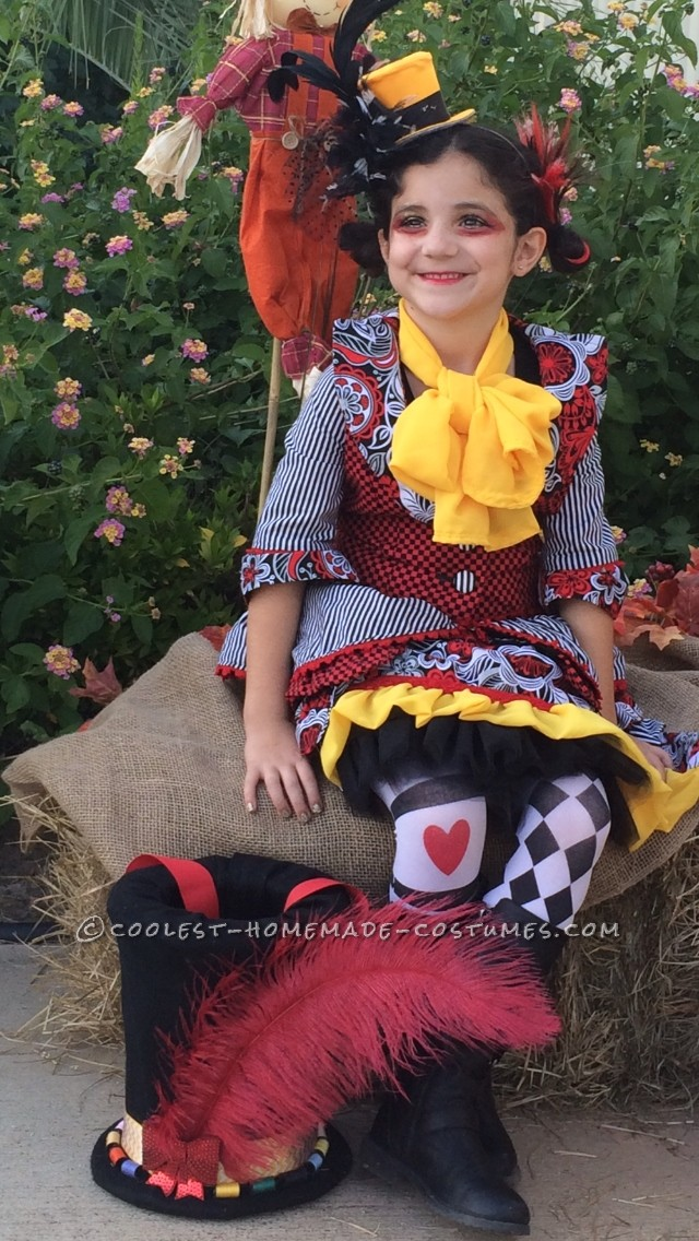 Special Little Miss Mad Hatter Costume