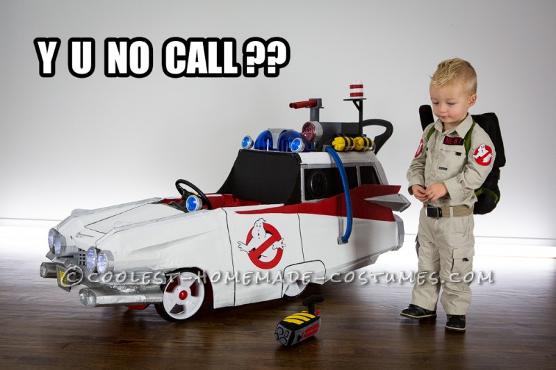 Littlest Ghostbuster Toddler Costume - Who You Gonna Call?!?!