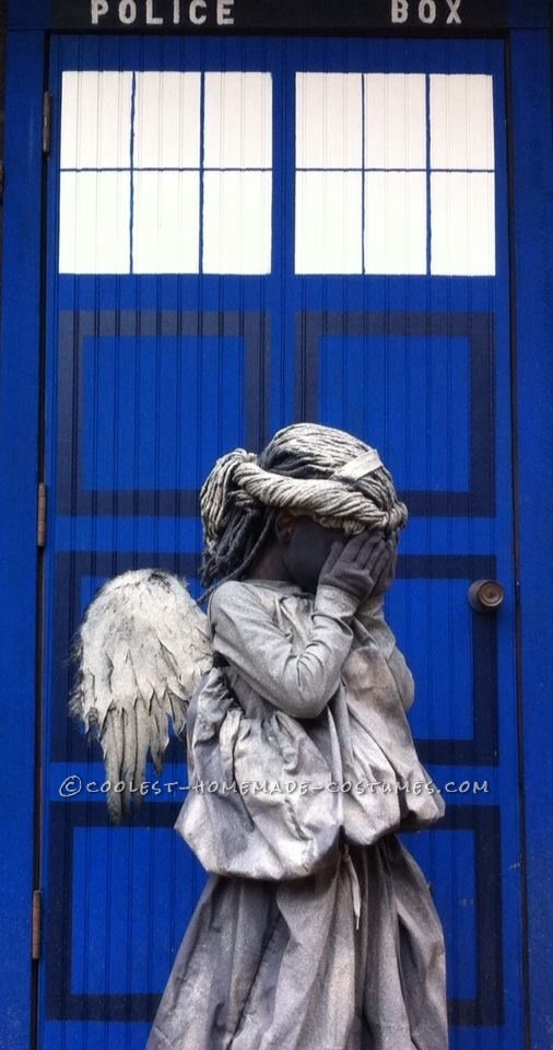 Littlest Weeping Angel Costume