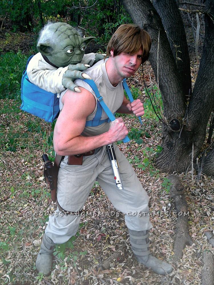 Luke Skywalker Costume: Jedi Training with Master Yoda