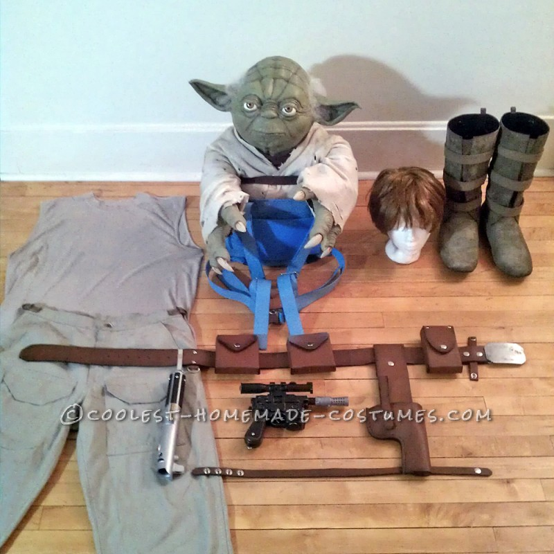 Luke Skywalker Costume: Jedi Training with Master Yoda
