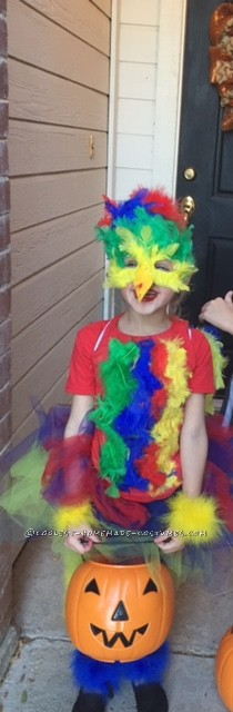 Colorful Macaw Bird Costume - 2