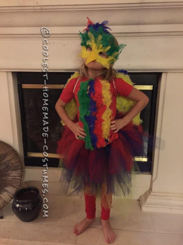 Colorful Macaw Bird Costume