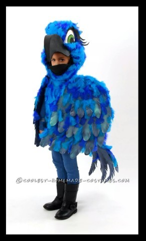 Magnificent Blue Macaw Costume from Rio