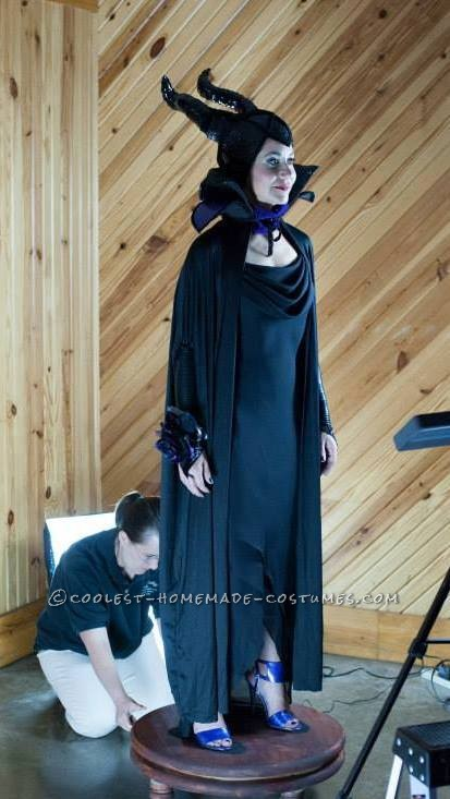 Homemade Maleficent Goes to the Prom Costume