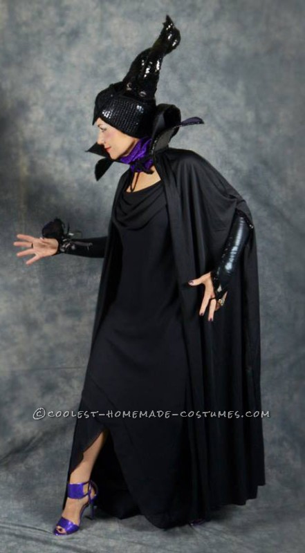 Homemade Maleficent Goes to the Prom Costume - 1