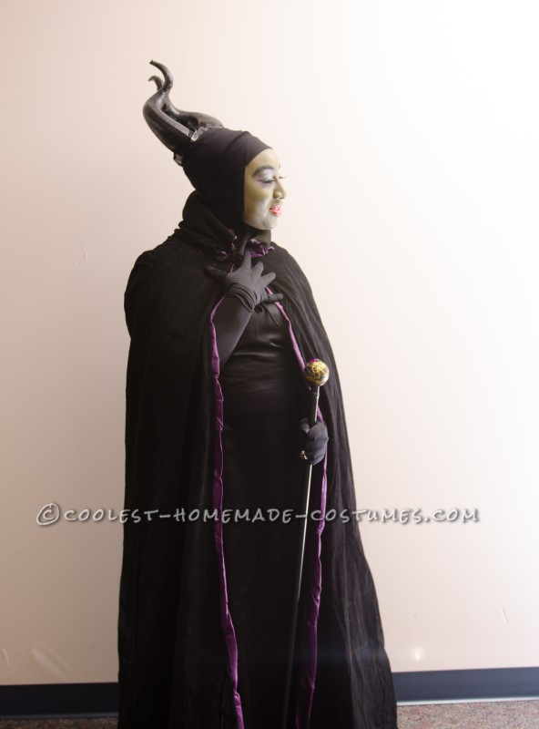 Homemade Maleficent The Magnificent Costume - 2