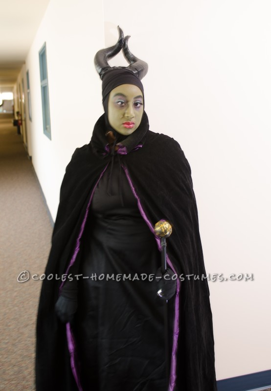 Homemade Maleficent The Magnificent Costume - 3