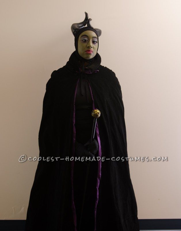 Homemade Maleficent The Magnificent Costume - 5