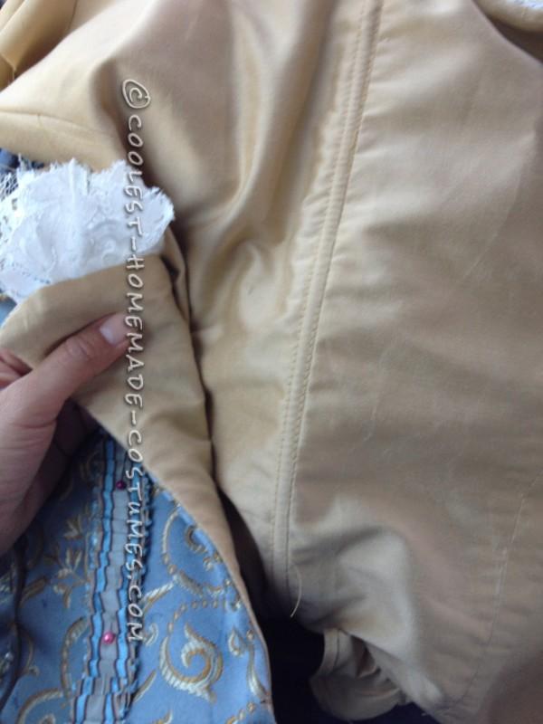 Boning in corset
