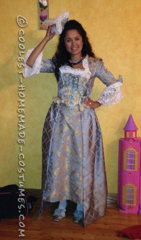 Coolest Homemade Marie Antoinette Costume