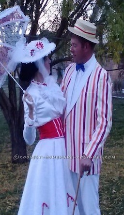 Coolest Mary Poppins and Bert Costumes