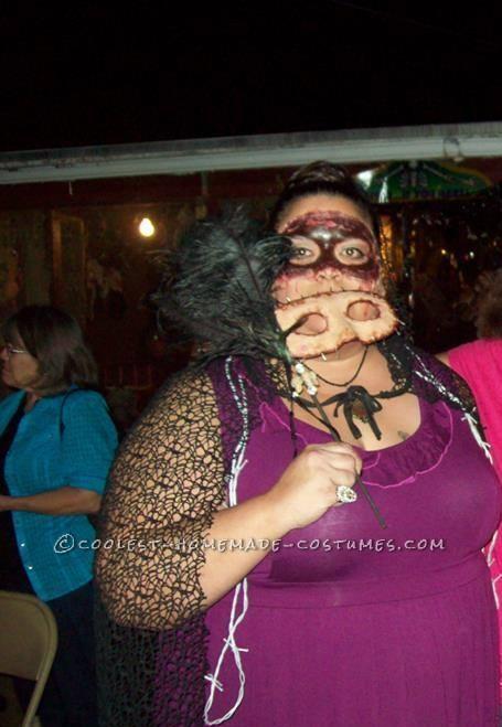 Homemade Masquerade Flesh Mask Costume - 5