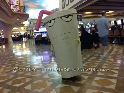 Cool Master Shake Costume in Vegas